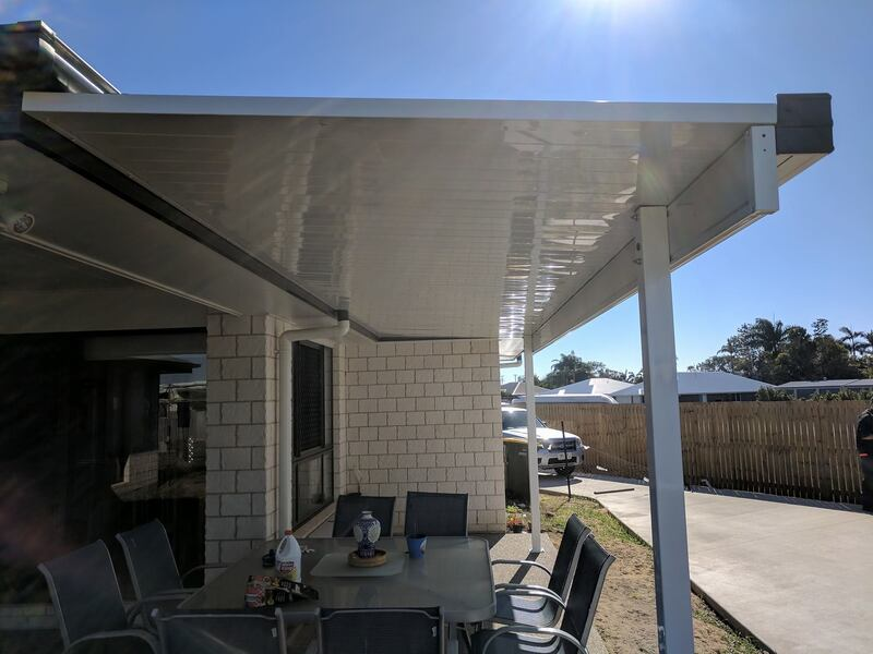 Patio Attached to Fascia